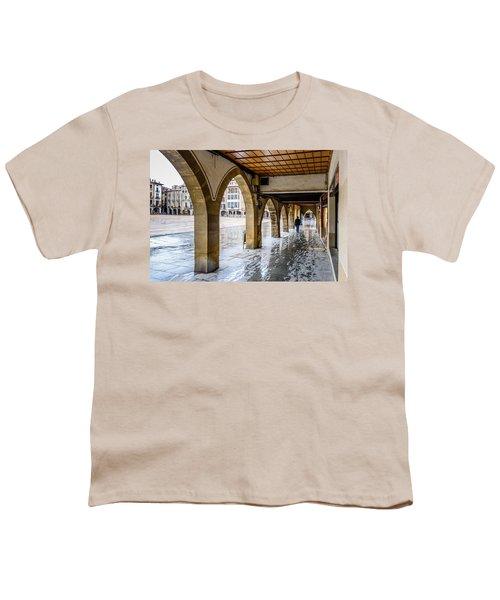 The Rain In Spain Youth T-Shirt by Randy Scherkenbach