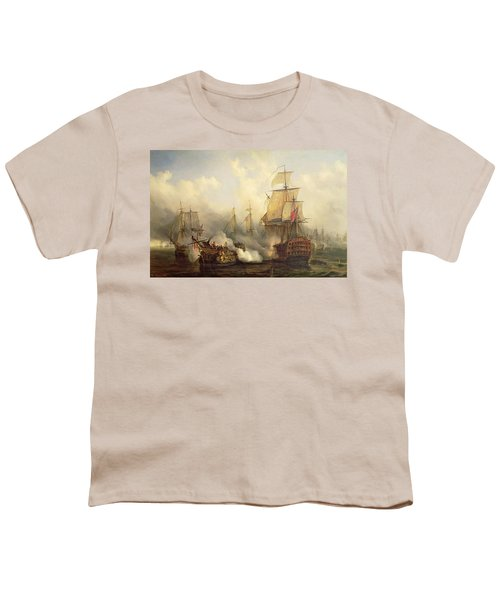 Unknown Title Sea Battle Youth T-Shirt