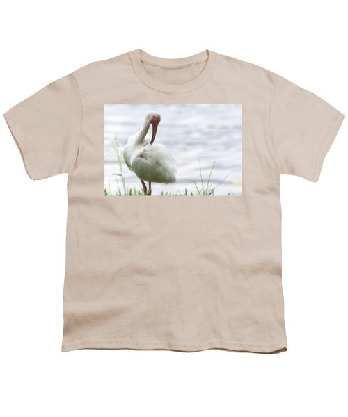 The White Ibis  Youth T-Shirt