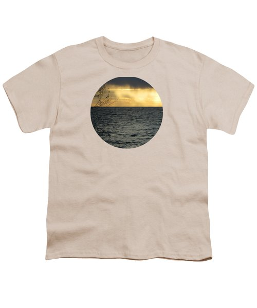 The Wonder Of It All Youth T-Shirt by Mary Wolf