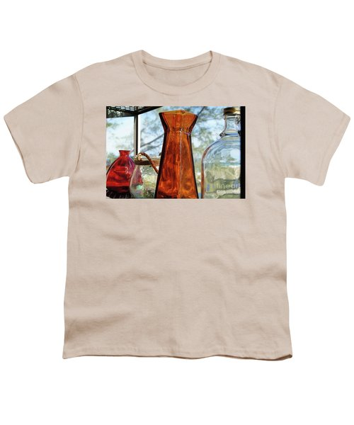 Thru The Looking Glass 1 Youth T-Shirt by Megan Cohen