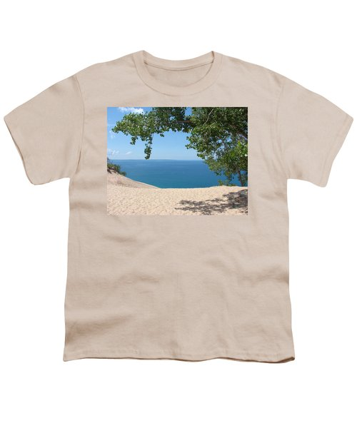 Top Of The Dune At Sleeping Bear Youth T-Shirt