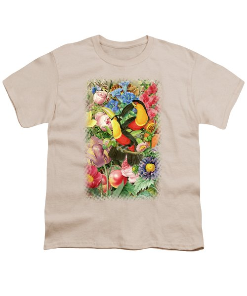 Toucans Youth T-Shirt by Gary Grayson