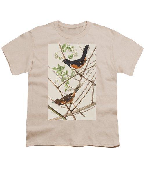 Towhe Bunting Youth T-Shirt