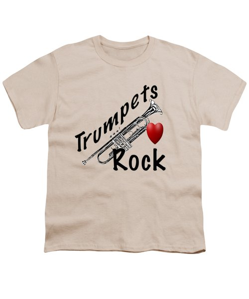 Trumpets Rock Youth T-Shirt