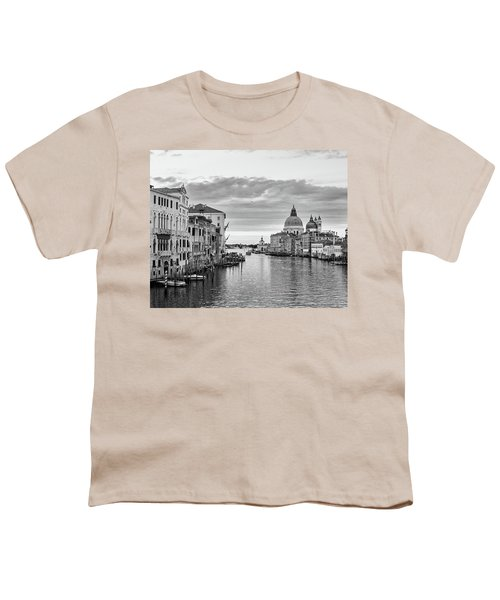 Youth T-Shirt featuring the photograph Venice Morning by Richard Goodrich