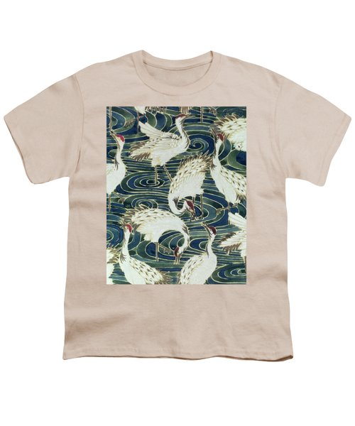 Vintage Wallpaper Design Youth T-Shirt by English School