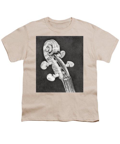 Violin Scroll Youth T-Shirt