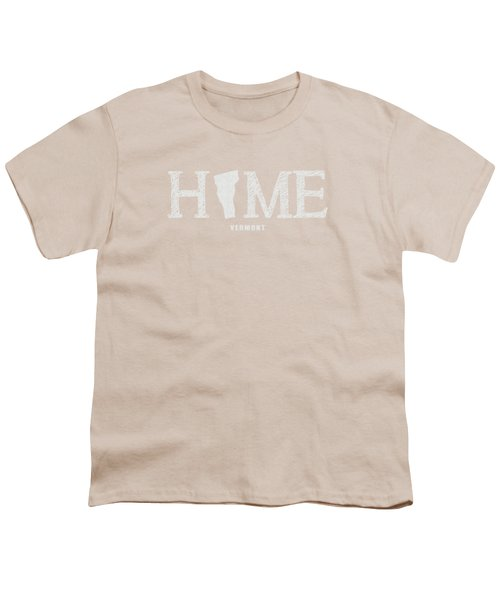 Vt Home Youth T-Shirt by Nancy Ingersoll
