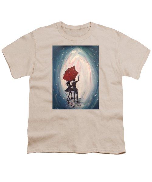 Walking In The Rain Youth T-Shirt