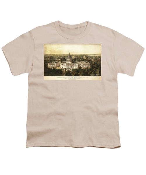 Washington City 1857 Youth T-Shirt by Jon Neidert