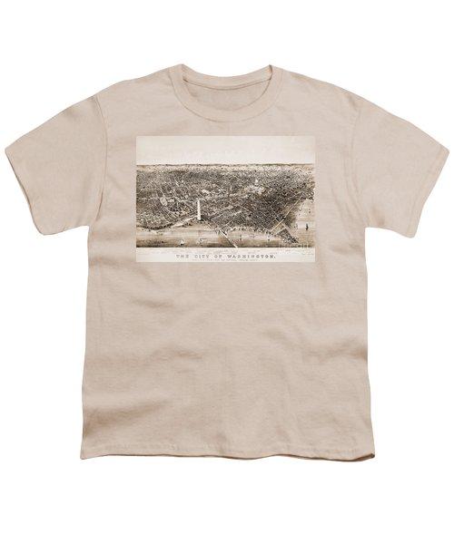 Washington D.c., 1892 Youth T-Shirt by Granger