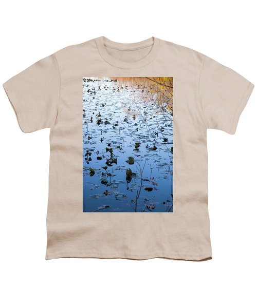 Water Lilies Autumn Song Youth T-Shirt
