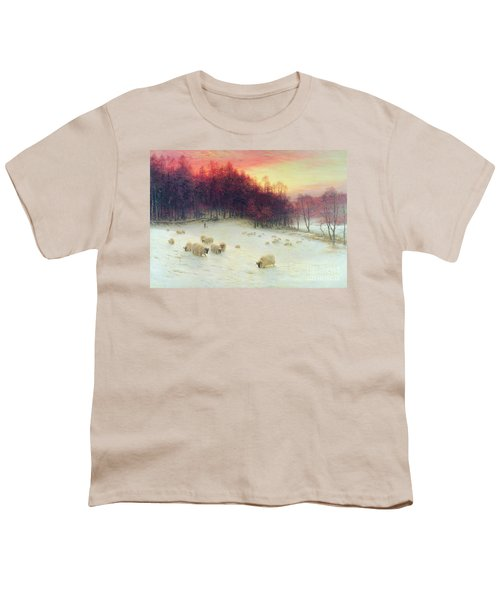 When The West With Evening Glows Youth T-Shirt
