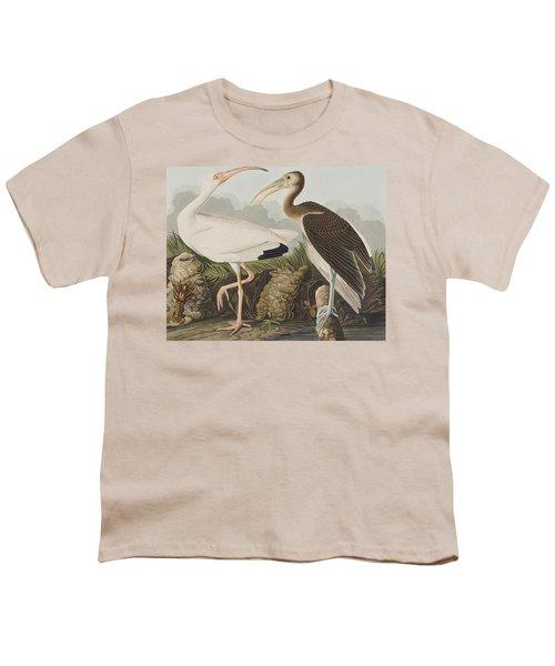 White Ibis Youth T-Shirt