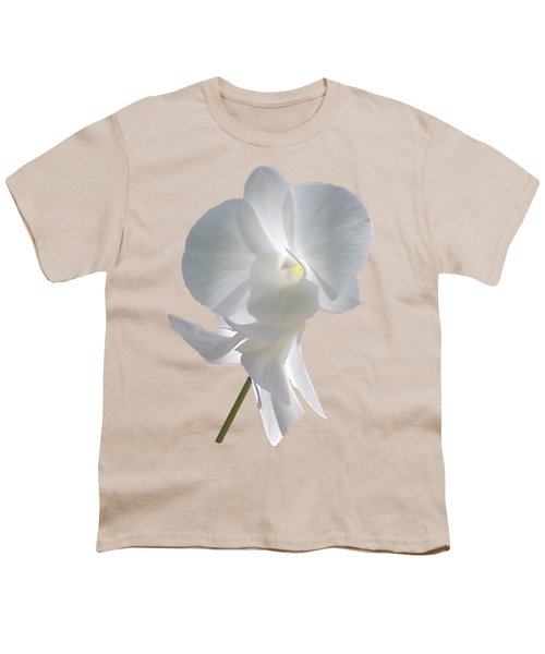 White Orchid Youth T-Shirt