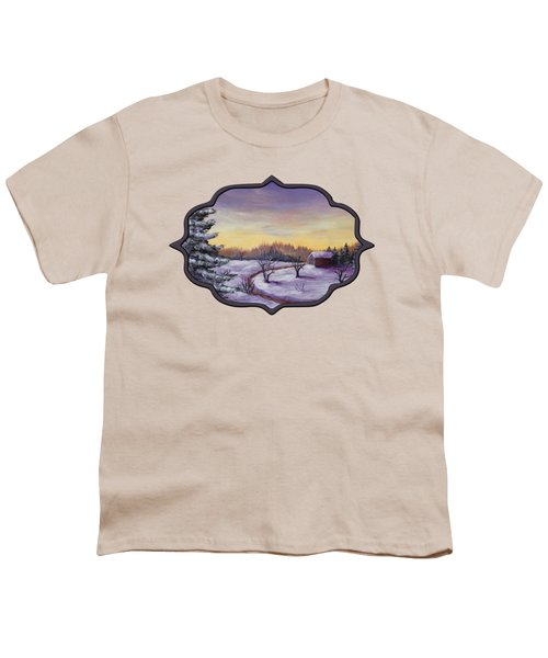 Winter In Vermont Youth T-Shirt