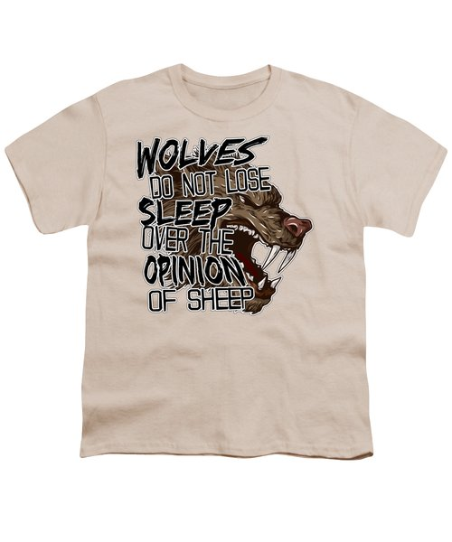 Wolves And Sheep Youth T-Shirt by Michelle Murphy