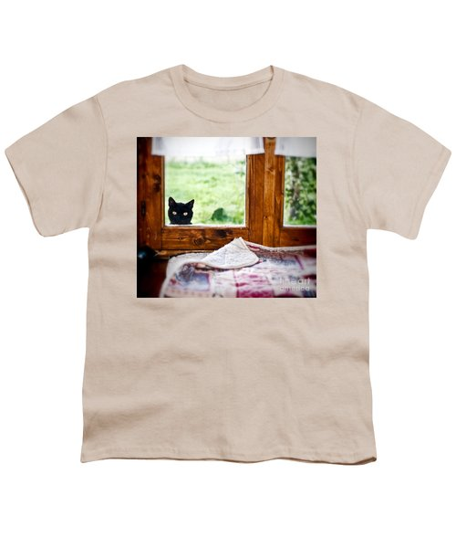Wondering What's She... Better Investigate Youth T-Shirt