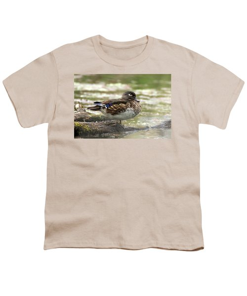 Wood Duck Hen Youth T-Shirt
