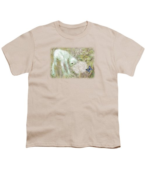 Worthy Is The Lamb - Quote Youth T-Shirt