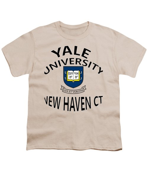 Yale University New Haven Connecticut  Youth T-Shirt by Movie Poster Prints