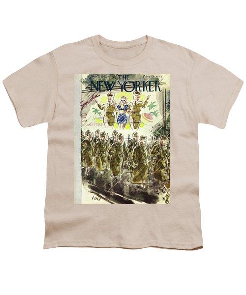 New Yorker November 7th 1942 Youth T-Shirt