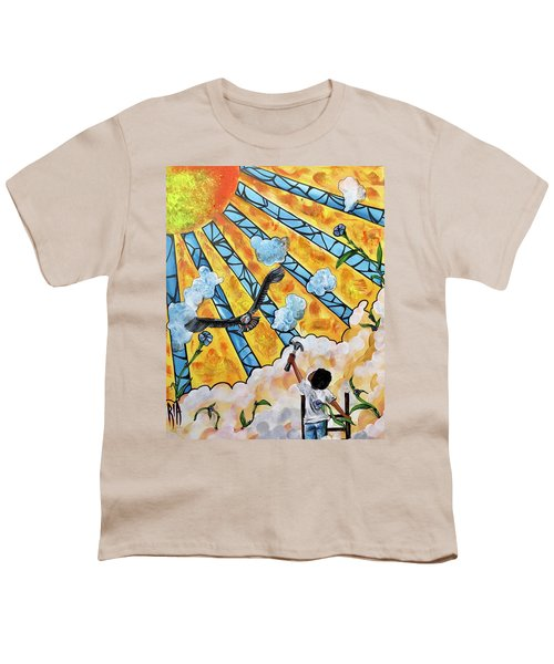 Shattered Skies Youth T-Shirt