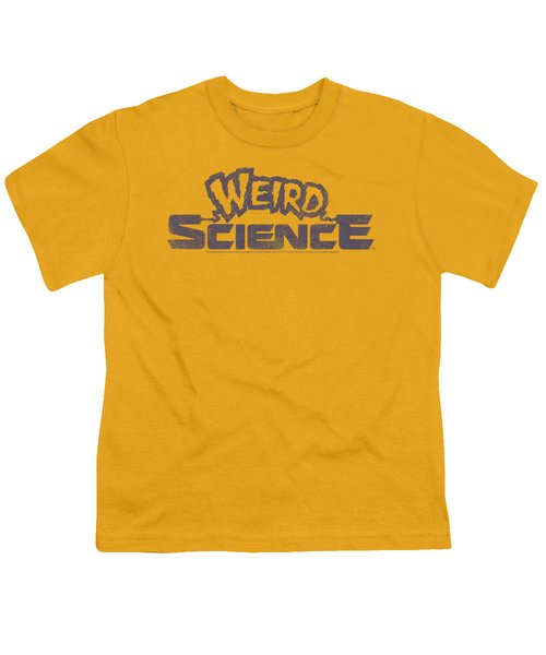 Weird Science - Distressed Logo Youth T-Shirt
