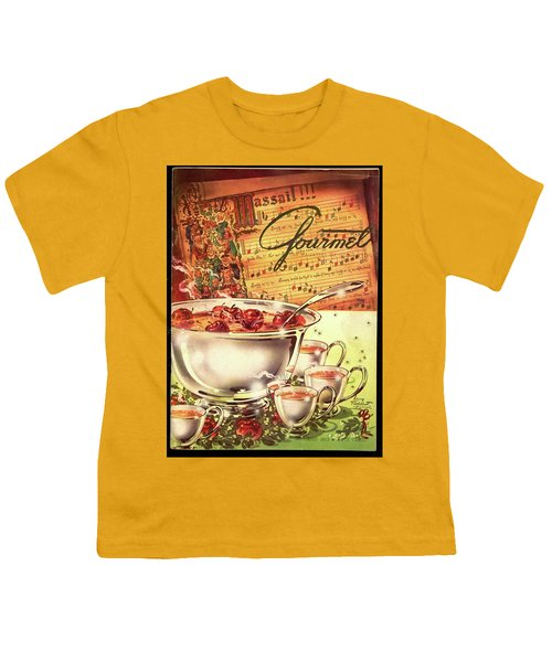 A Gourmet Cover Of Apples Youth T-Shirt