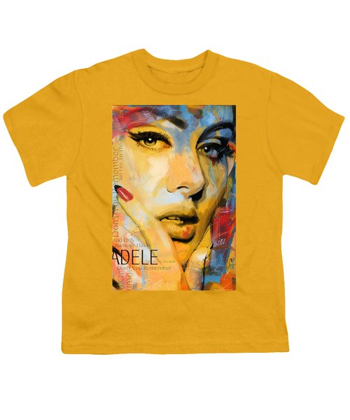 Adele Youth T-Shirt by Corporate Art Task Force