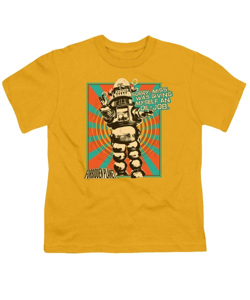 Forbidden Planet - Oil Job Youth T-Shirt