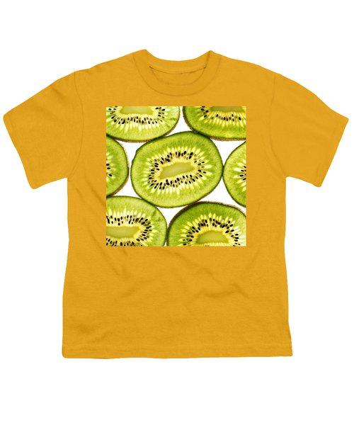 Kiwi Fruit IIi Youth T-Shirt by Paul Ge