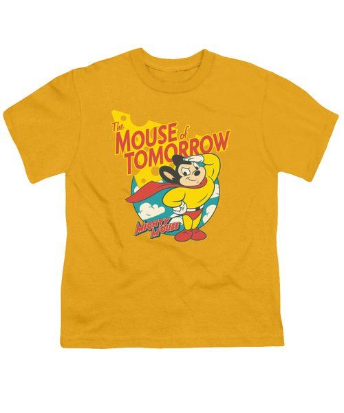Mighty Mouse - Mouse Of Tomorrow Youth T-Shirt by Brand A