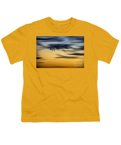 Natural Abstract Art Youth T-Shirt
