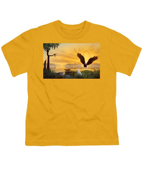 Spirit Of The Everglades Youth T-Shirt