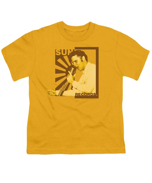 Sun - Sun Records Slvis On The Mic Youth T-Shirt by Brand A