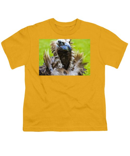 Monk Vulture 4 Youth T-Shirt by Heiko Koehrer-Wagner