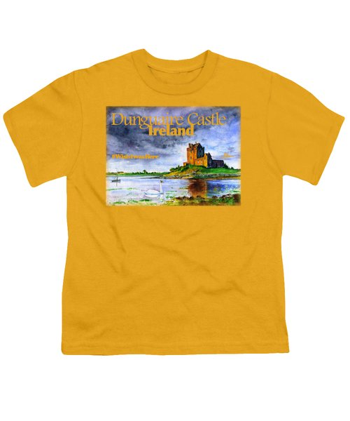 Dunguaire Castle Ireland Youth T-Shirt