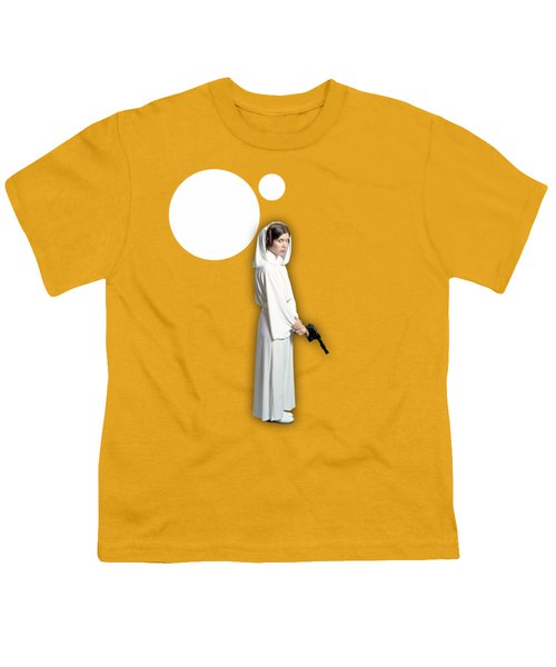 Star Wars Princess Leia Collection Youth T-Shirt by Marvin Blaine