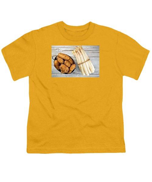 Asparagus Youth T-Shirt by Nailia Schwarz
