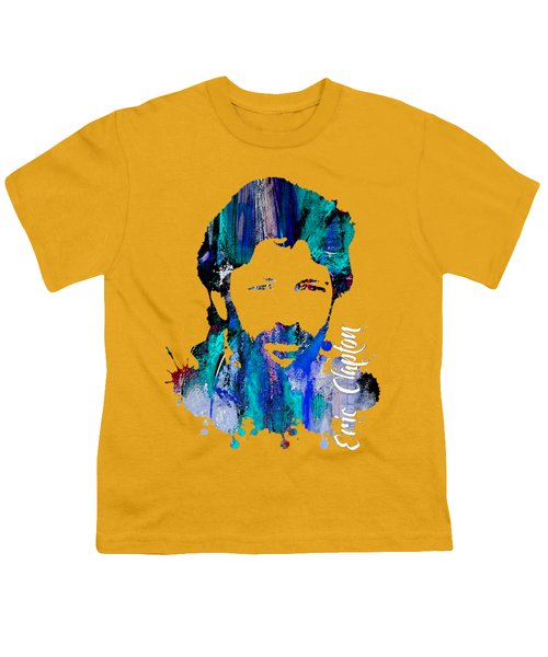 Eric Clapton Collection Youth T-Shirt by Marvin Blaine