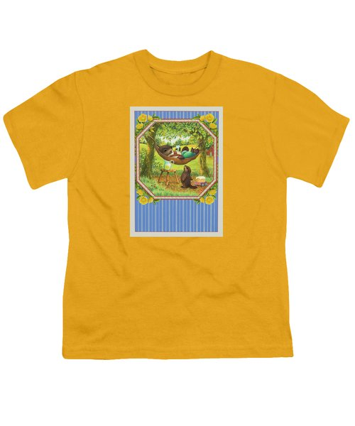 A Father's Day Treat Youth T-Shirt by Lynn Bywaters