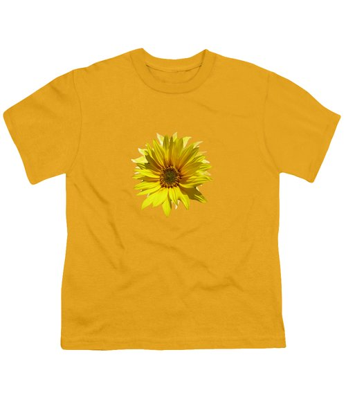 A Vase Of Sunflowers Youth T-Shirt