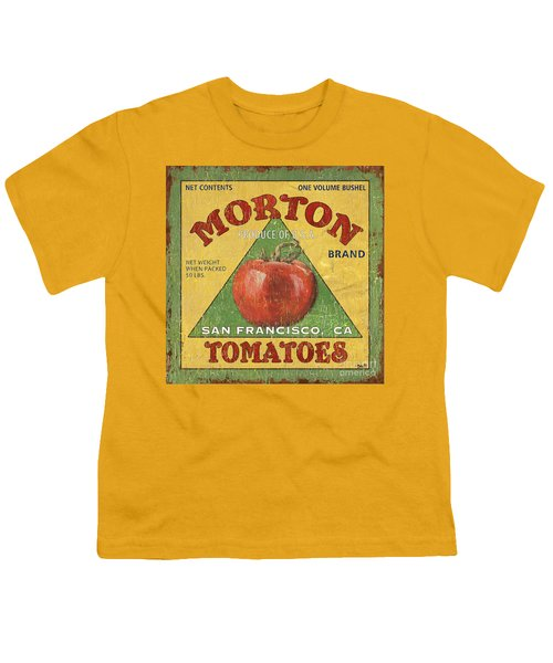 American Veggies 2 Youth T-Shirt by Debbie DeWitt