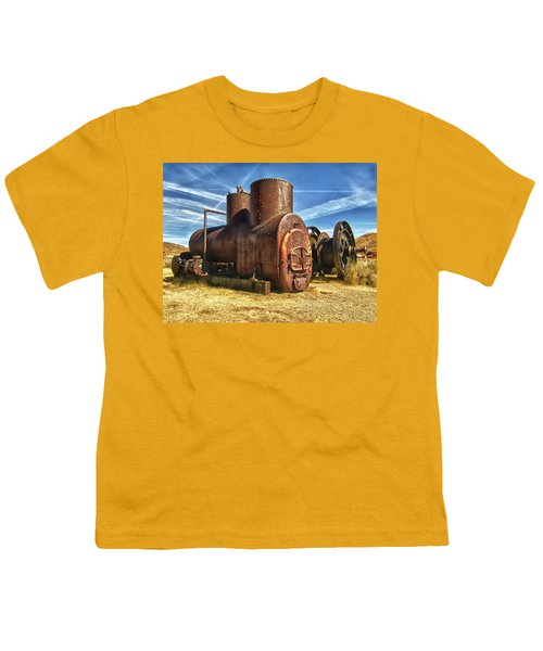 Old Boiler Bodie State Park Youth T-Shirt