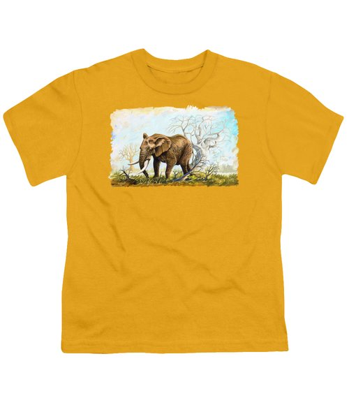 Browsing In The Bushes Youth T-Shirt