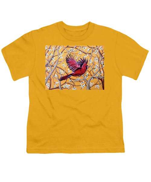 Cardinal In Flight Youth T-Shirt