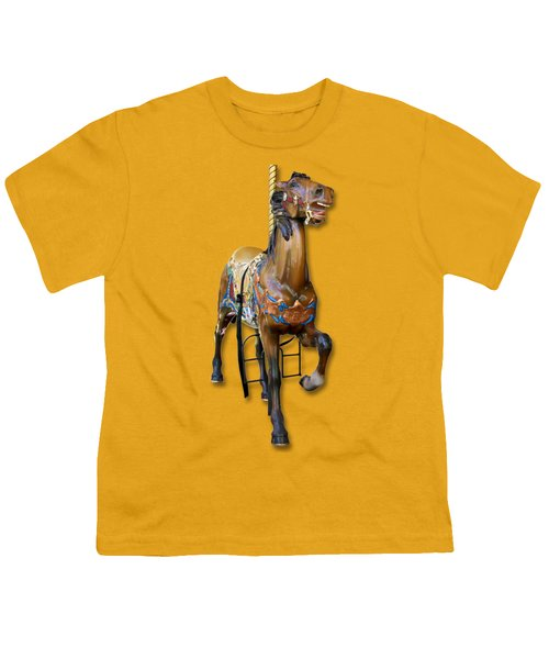 Carousel Horse Youth T-Shirt