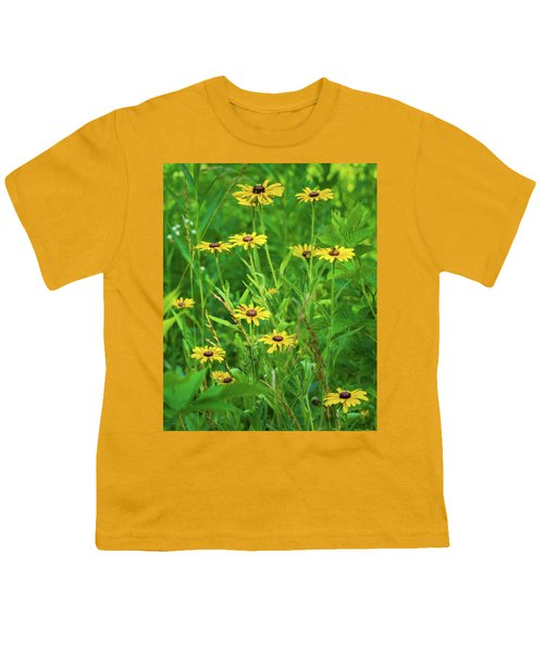 Youth T-Shirt featuring the photograph Collection In The Clearing by Bill Pevlor